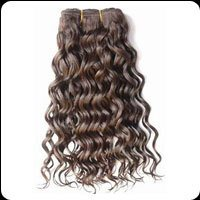 Remy Single Drawn Machine Weft Curly Hairs