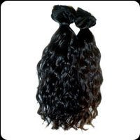 Remy Single Drawn Machine Weft Wavy Hairs