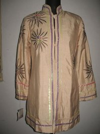 Embroidered Silk Dupion Jackets
