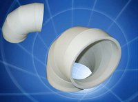 Alumina Ceramic Elbow Tube