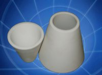 Alumina Ceramic Cone Tube