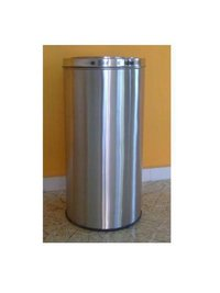 Stainless Steel Office Dustbin