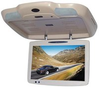 "19"" Flip Down TFT LCD Monitor With DVD player"