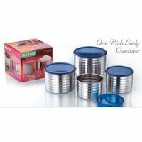 One Rich Lady Canisters