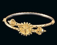 Decorative Gold Bangles