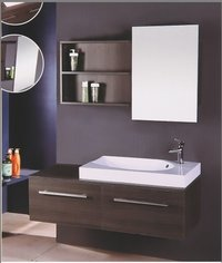 Solid Wood Bathroom Cabinet Series