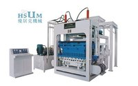 Hsum-Qt9 Concrete Brick Making Machine