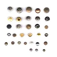 Heavy Brass Buttons