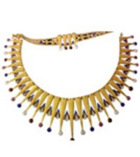 Ethnic Gold Necklace Set