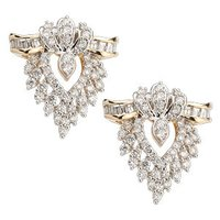 Diamond Studded Earrings