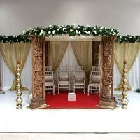 Carved Mandap