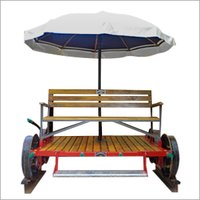 Inspection Trolley With Umbrella