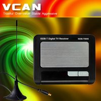Car Isdb-T Receiver 1 Seg Mpeg2 Tuner Antenna Mobile