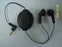 Power Retractable Earphone