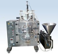 Automatic Form Fill Seal Machine (Collar Type) With Liquid Piston Filler