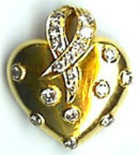 Diamond Gold Lockets