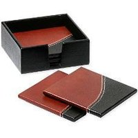 Leather Organizer Box