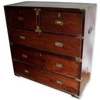 Rosewood Drawer Chest With Two Sections
