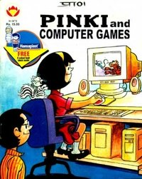 Pinki And Computer Games Comics