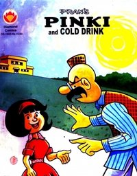 Pinki And Cold Drink Comics