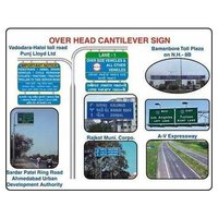 Overhead Cantilever Signs