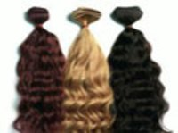 Remy Single Drawn Machine Weft Wavy Hair