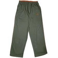 Track Pants In Military Green Color