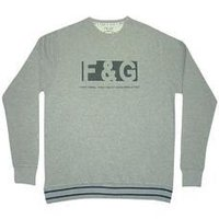 Grey Colored Pullover With Full Sleeves