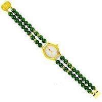 Green Jade Stone Watch