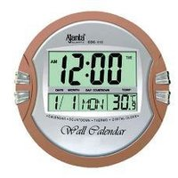 Round Shaped Digital Clock
