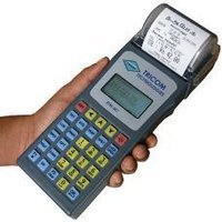 Sleek And Lightweight Electronic Ticketing Machine-ETM