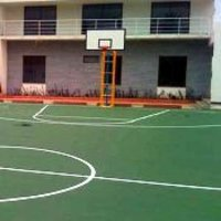 Acrylic Tennis And Basketball Courts