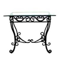 Ready To Assemble Wrought Iron Consoles