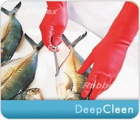 Industrial Rubber Gloves - Deep Clean