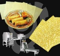 Spring Roll Pastry And Crepe Machine