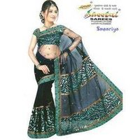 Designer Brasso Saree