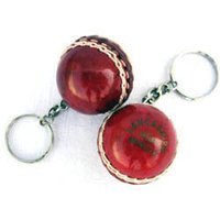 Cricket Ball Key Rings