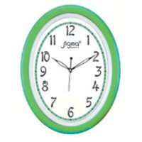 Oval Shape Wall Clocks