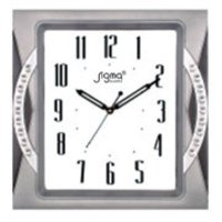 Silver Finish Wall Clocks