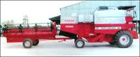 Self Harvester Combine Machine