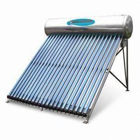 Pressure System Solar Water Heater With Aluminum Ginning Reflection Panel