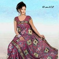 Block Printed Sarees