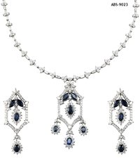 Diamond Studded Necklace Sets