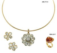 Fancy Diamond Necklace Sets