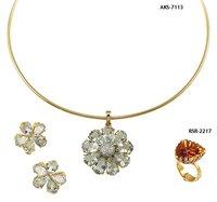 Fancy Diamond Necklace Sets