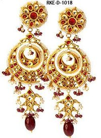 Ladies Kundan Jhumkies