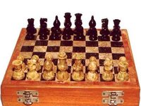 Elegant Wooden Chess Set
