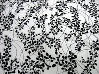 Printed Silk Curtain Fabric
