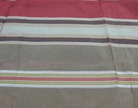 Silk Taffeta Ribbed Check Design Fabric