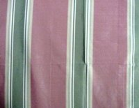 Stripped Silk Taffeta Fabric